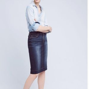 Anthro McGuire Denim Skirt